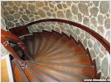 Винтовая лестница Галатской башни.