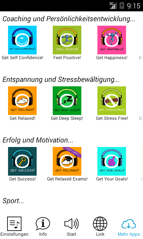 Get Relaxed free! Hypnose – Screenshot