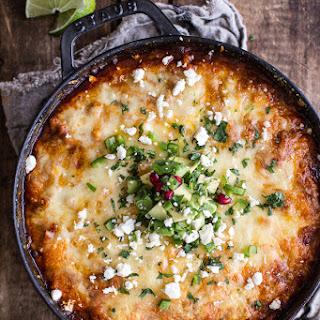 One-Pot Cheesy Turkey Tamale Pie.