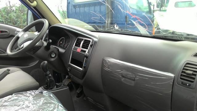 Nội thất trong xe đông lạnh Hyundai H150