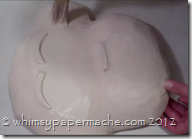 Whimsy Paper Mache Com How 2 Make A Lil Monkey Face For