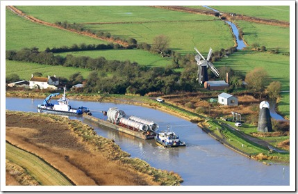 cooling towers_barge_cantley_river yare_polkeys mill_aerial