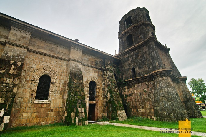 The Incredibly Massive Walls of Miag-Ao Church