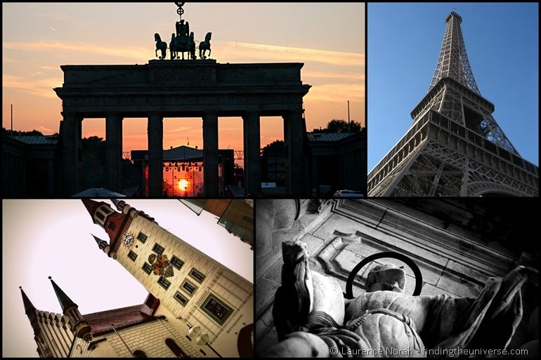 Europe photo collage