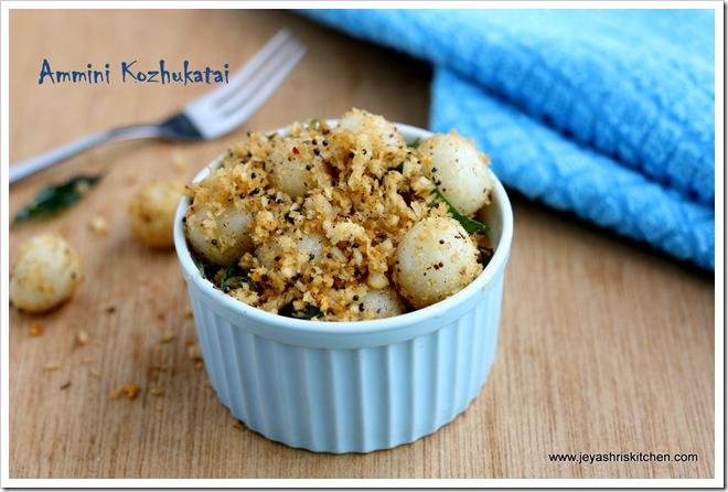 Jeyashri S Kitchen Kozhukattai