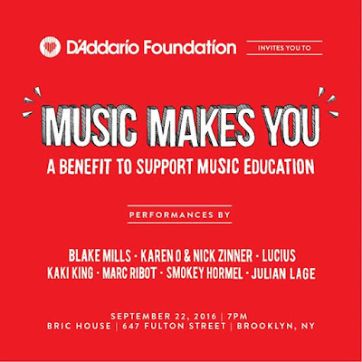 HEYYY NY Karen Nick are playing the The DAddario Foundation MusicMakesYou Benefit