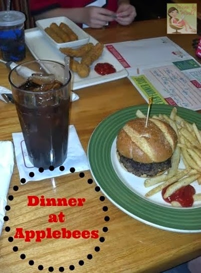 Applebees dinner[4]