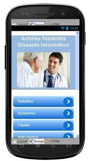 Achilles Tendinitis Disease