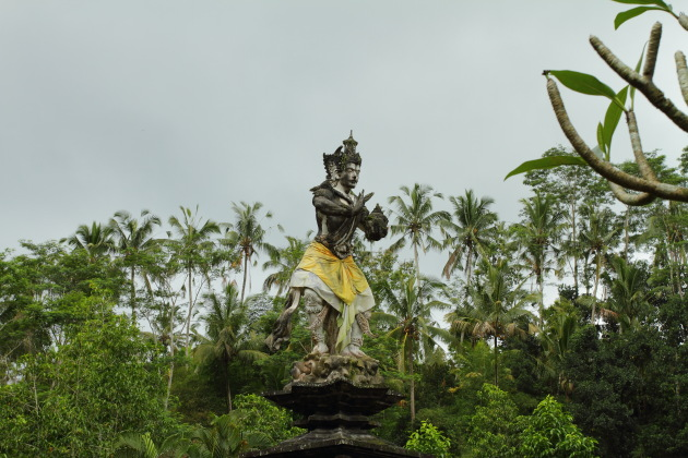 Lord Indra at Tirtha Empul Temple, Bali