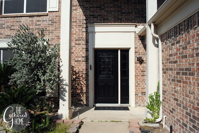 DIY Project: Glossy Black Front Door