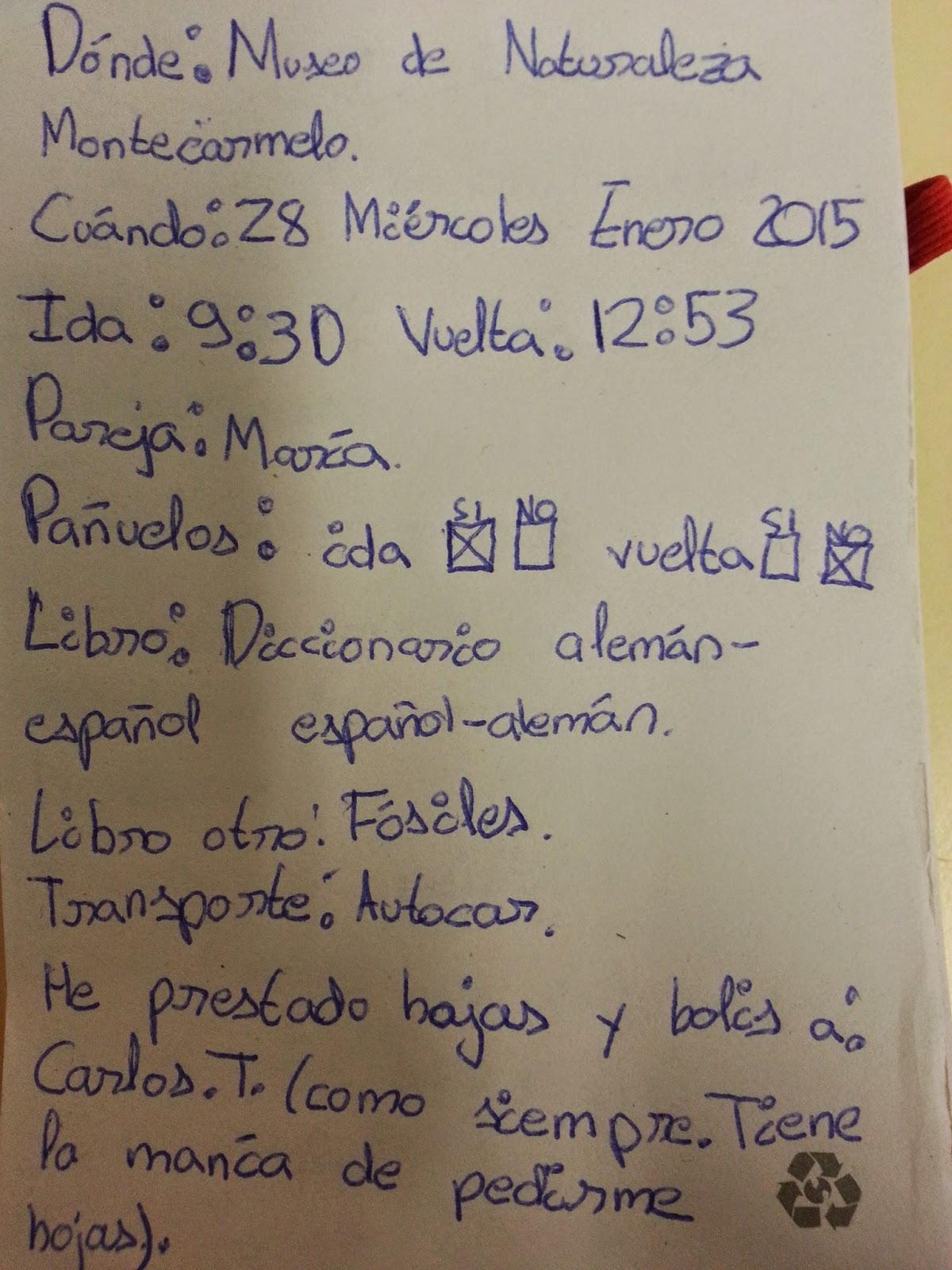 Cuaderno de bitácora   CEIP Manuel Bartolomé Cossío