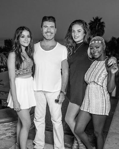 Simon and the girls The X Factor