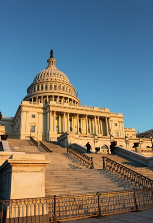 Capitol Steps at Sunset