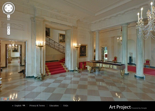 Google Street View Takes A Virtual Tour Of The White House Leisurely Wander Around Wh Without Being Detained