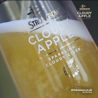 Strongbow Cloudy Apple: Premium refreshment