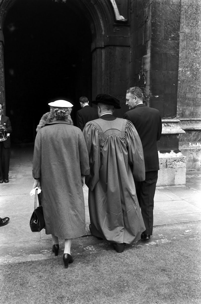 H. Truman At Oxford Univ.