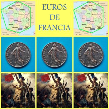 Diseños monedas euro Francia