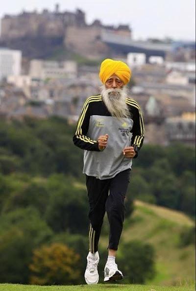 The Running Baba