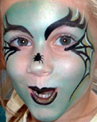 Ideas De Maquillaje De Bruja Para Halloween Actividades Para Ninos - Maquillaje-infantil-de-bruja