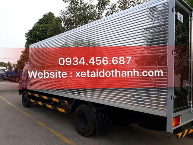 Xe tải 8 tấn Hyundai HD120sl thùng kín