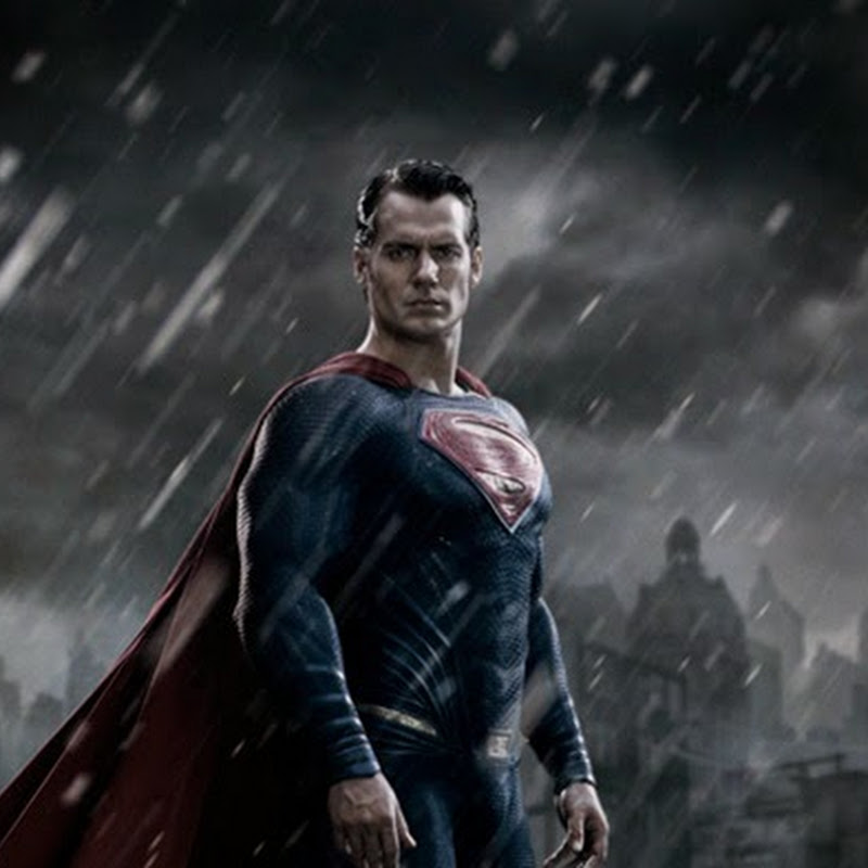 "First Image of Henry Cavill as Man of Steel in ""Batman v Superman: Dawn of Justice"""