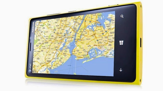 Google Maps para Windows Phone