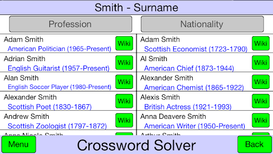 Crossword Solver - screenshot thumbnail