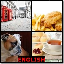 ENGLISH- 4 Pics 1 Word Answers 3 Letters