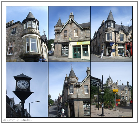 The Scottish Town of Pitlochry