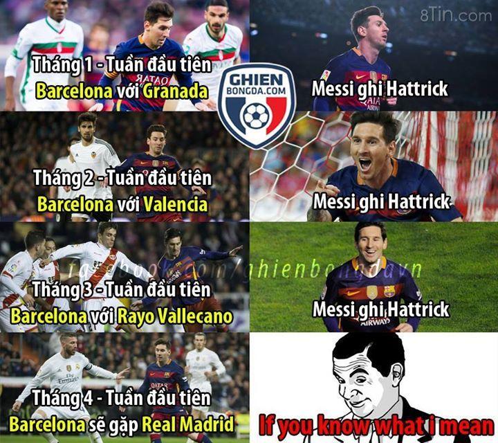 Messi sẽ ... à mà thôi =D #HNT