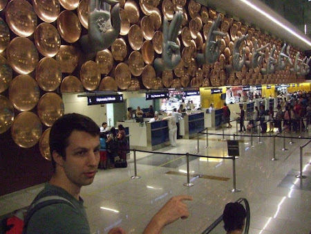 Obiective turistice India: aeroportul Indira Gandhi Delhi