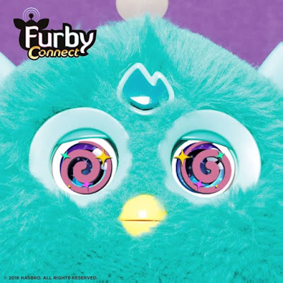 If you look at this for 30 seconds Furby will read your