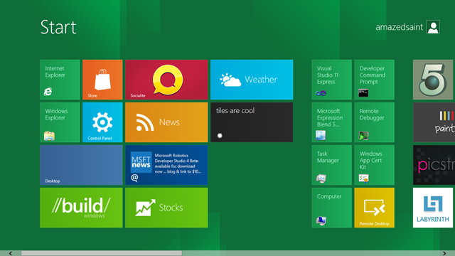 HelloTiles – A Simple C# Xaml Application for WinRT/Windows8 to