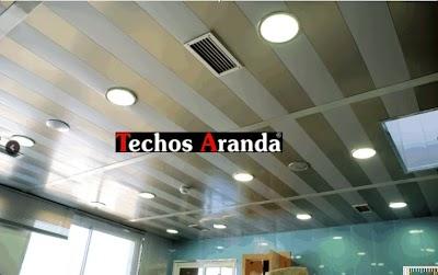 Falsos techos de aluminio Las Palmas De Gran Canaria