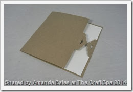 Tag Topper Punch Large Square Flap Card, Tutorial, Amanda Bates 007