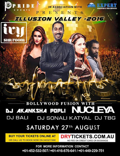 Catch me live ivy Sydney along with Nucleya