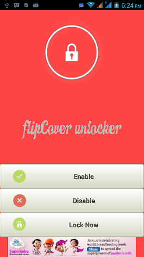 FlipCover Locker