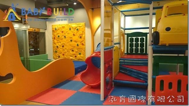 BabyBuild 室內兒童攀岩牆完工照