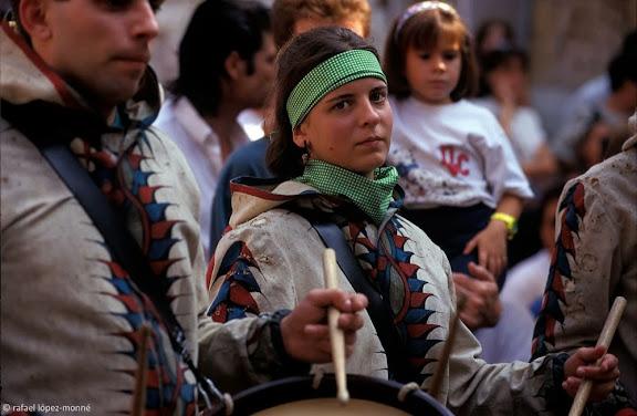 Ball de Diables de Tarragona. Festes de Santa Tecla. Tarragona, Tarragonès, Tarragona1997.09