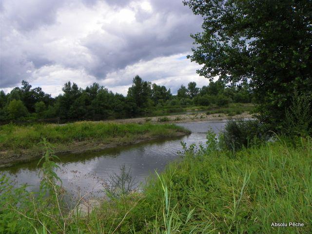 Loire au niveau d'Épercieux-Saint-Paul, amont, rive droite photo #1020