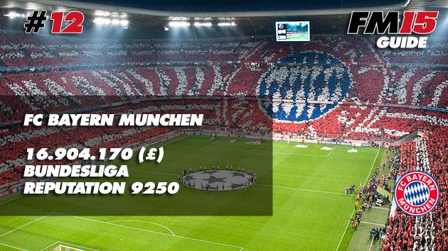 Bayern Munchen FM15
