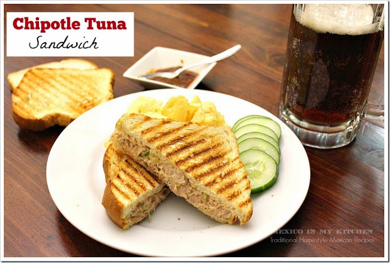 Chipotle Tuna Sandwich