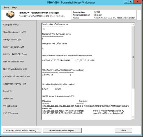 HYPER-V,SYSTEM CENTER AND AZURE: Hyper-V Manager GUI on Server Core