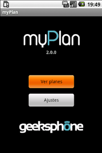 myPlan - screenshot thumbnail