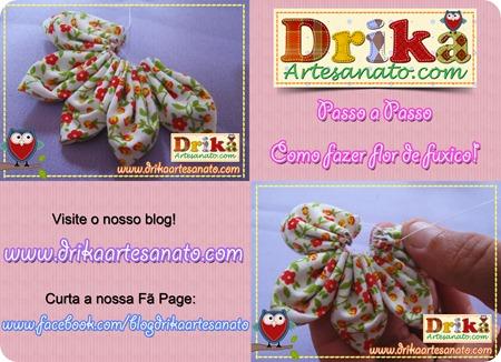 5 Passo a Passo como fazer fuxico Drika Artesanato post