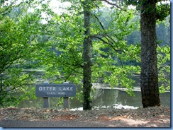 1028 Virginia - Blue Ridge Parkway North - Otter Lake & sign
