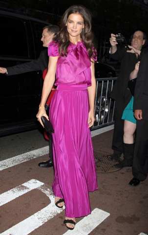 Katie Holmes 56th Annual Drama Desk Awards