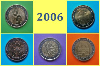 2006 2 Euros