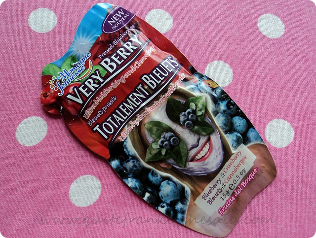Montagne Jeunesse Very Berry face Masque