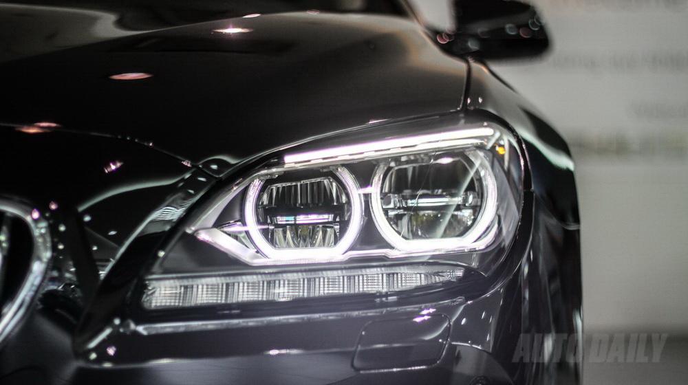 Xe BMW 640i Gran Coupe màu đen 04